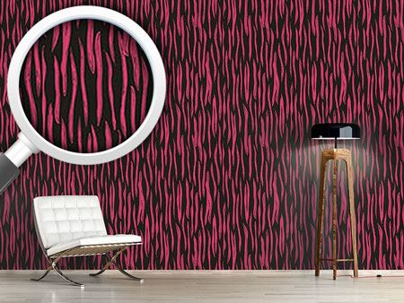 Designtapete Pop-Art Zebra