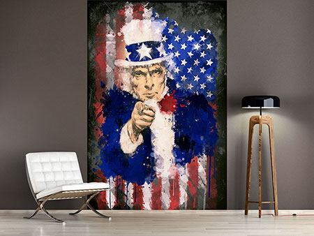 Fototapete Uncle Sam